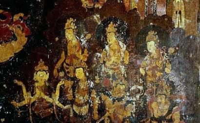 丽江白沙壁画 云藏要冲上 诸教兼容的文化盛宴